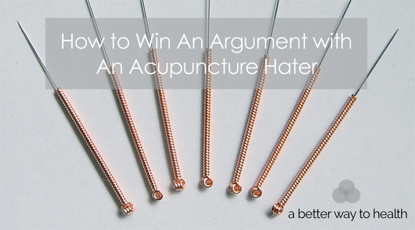 Acupuncture an argument article